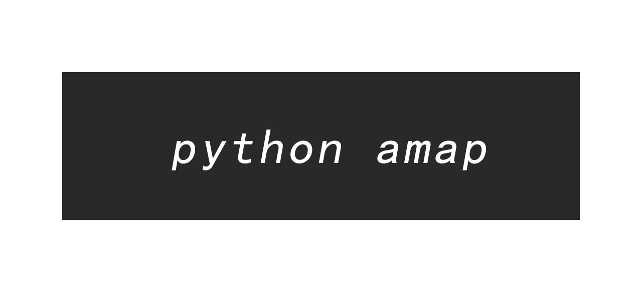 利用 Python 爬取高德地图数据